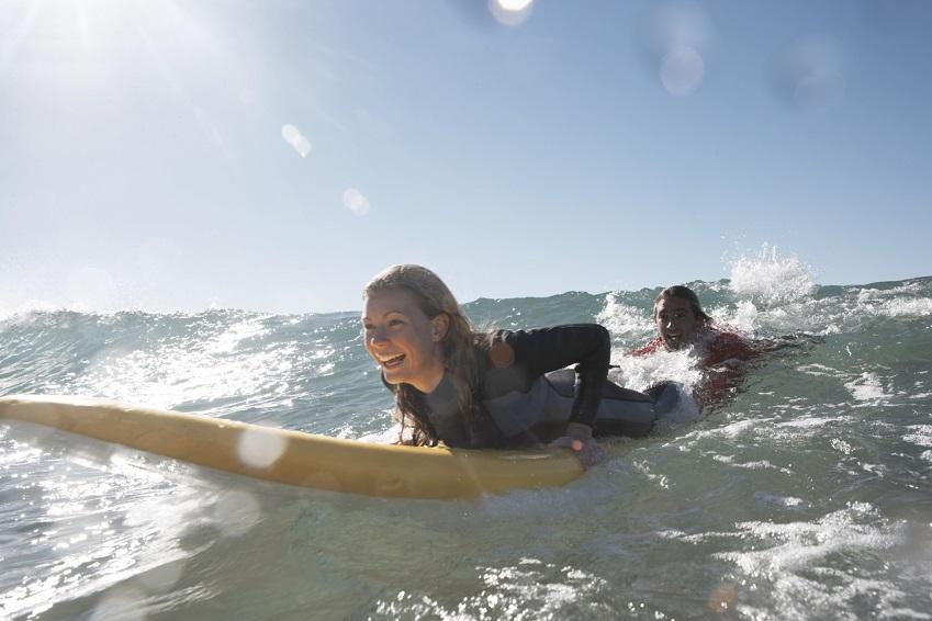 Wo kann man im Norden von Deutschland gut surfen?