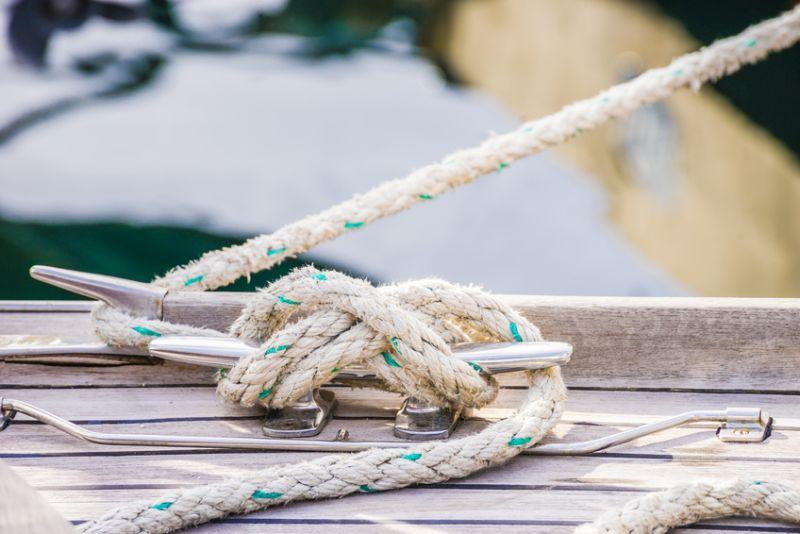 Knoten am Boot