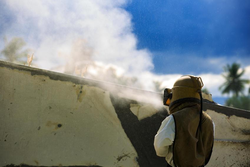 Besser Strahlen – Mit Sand den Sommerdreck lösen
