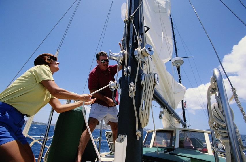 Die Krux mit dem Kreuzen – So segeln Sie gegen den Wind
